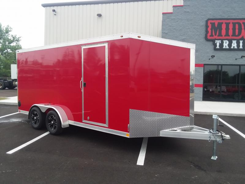 2018 One Trailers 7'x16' Alum. Red 7k