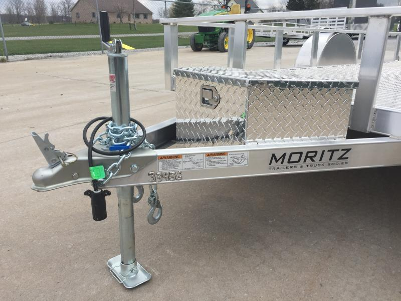 "2018 Moritz 80""x12 Alum Utility"