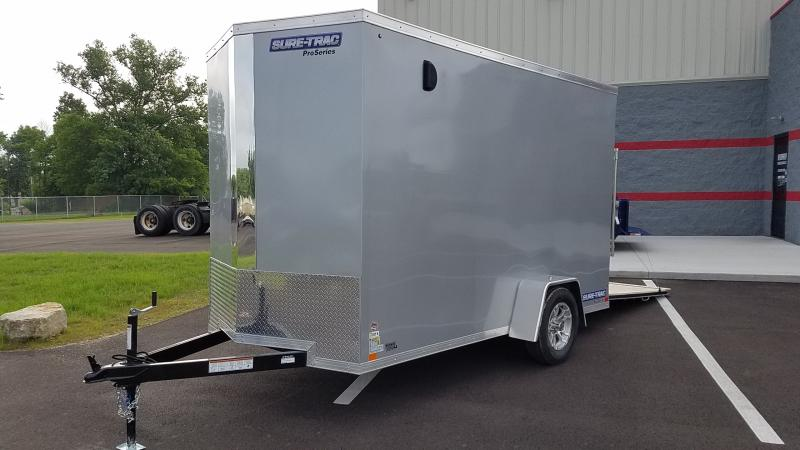 "2019 Sure Trac 6x12 Enclosed +12"" Hgt"