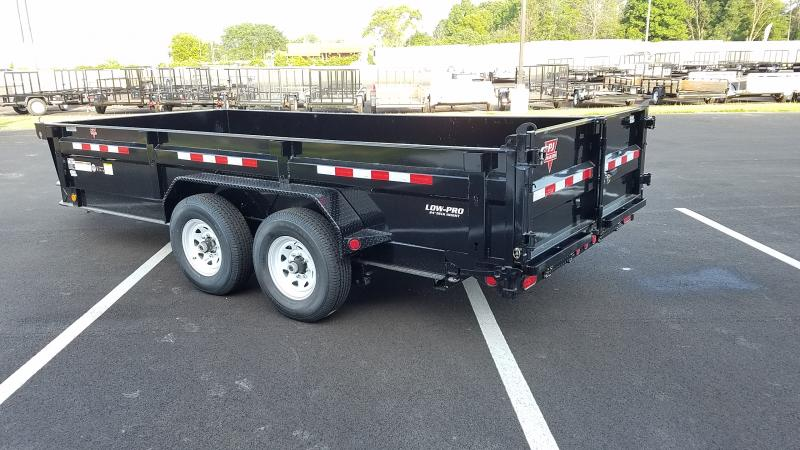 "2019 Pj Trailers 16' X 83"" Low Pro Xl Dump"