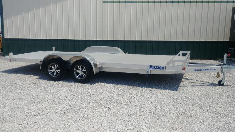 2017 Mission 7'x20' Alum. Car Hauler