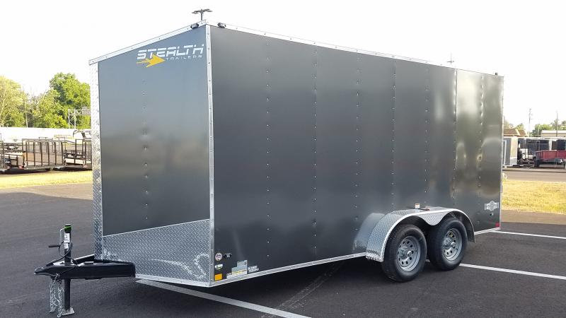 2019 Stealth 7' X 16' Enclosed +6 Hgt