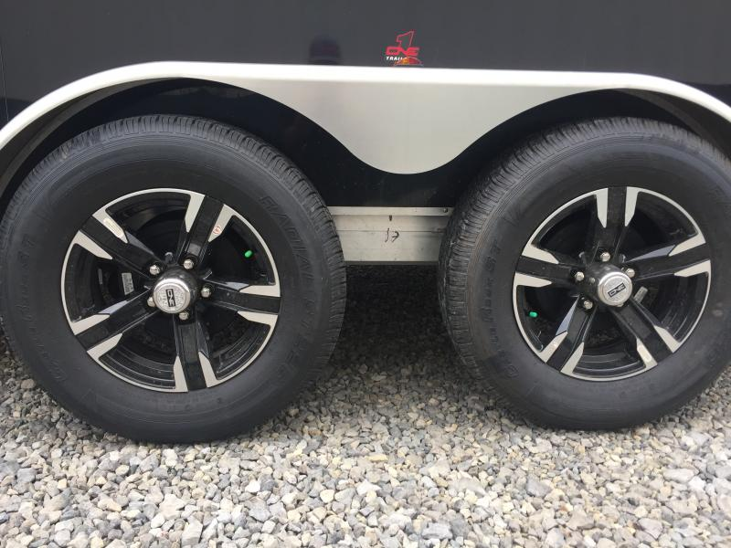 2018 One Trailers 7x18 7k Black