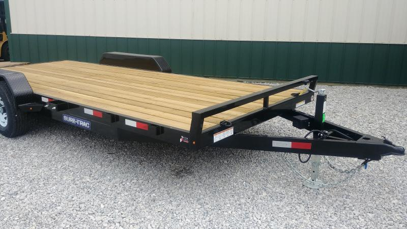2019 Sure-trac 7x20 Wood Deck Ch 10k