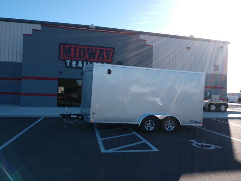 "2019 Sure-trac 7' X 16' Enclosed 10k +6"" Height"