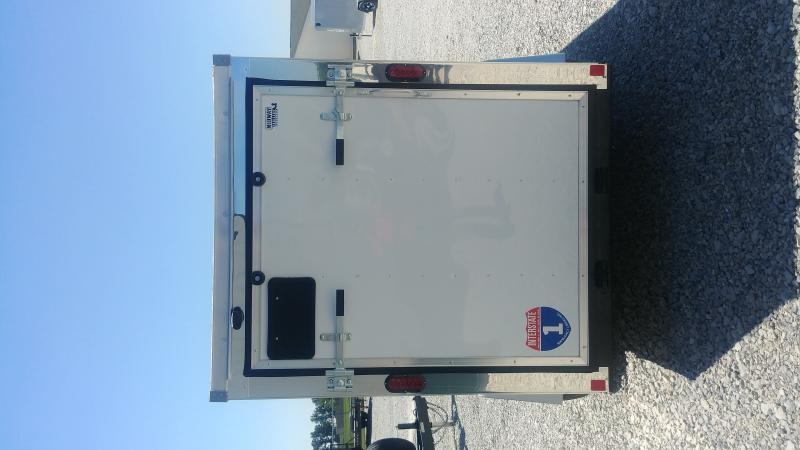 2019 Interstate 5 X 10 White Enclosed