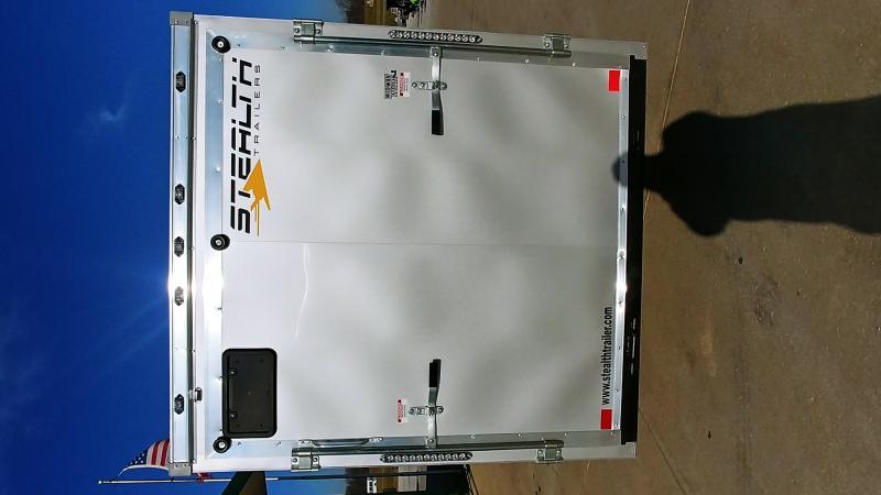 "2019 Stealth 6x12 Titan 3k Windstar Silver +12"""