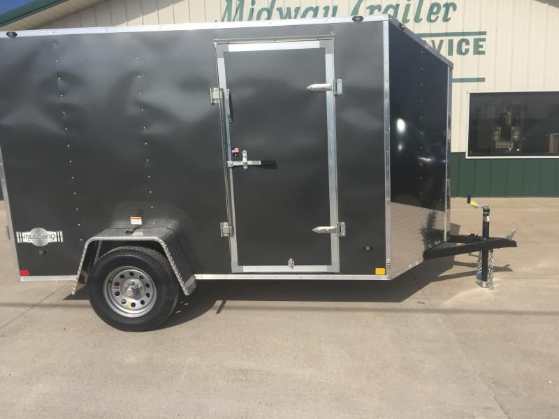 2019 Stealth 6 X 12 Charcoal Enclosed 3k