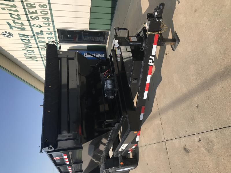 2019 Pj Trailers 14' Rollster Roll Off Dump