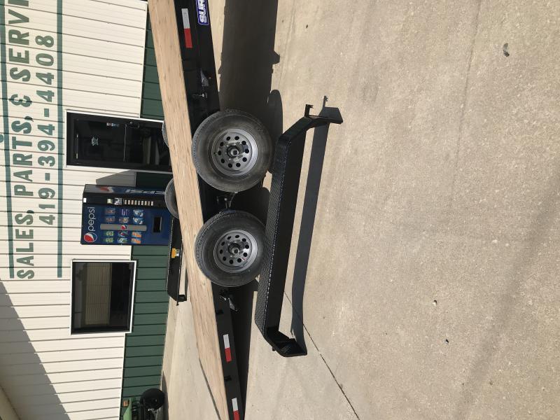2018 Sure-trac 7 X 20 Tilt Wood Deck 10k