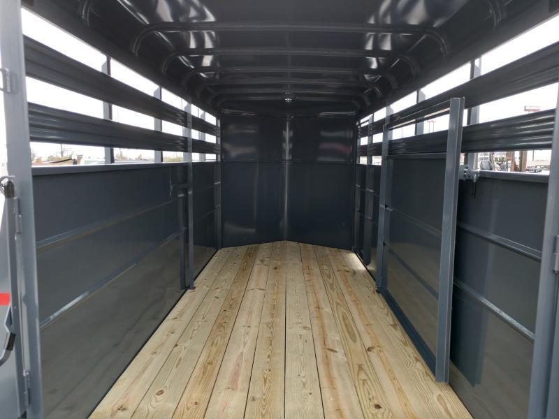 2019 Valley 6' X 16' Livestock Wedge Nose