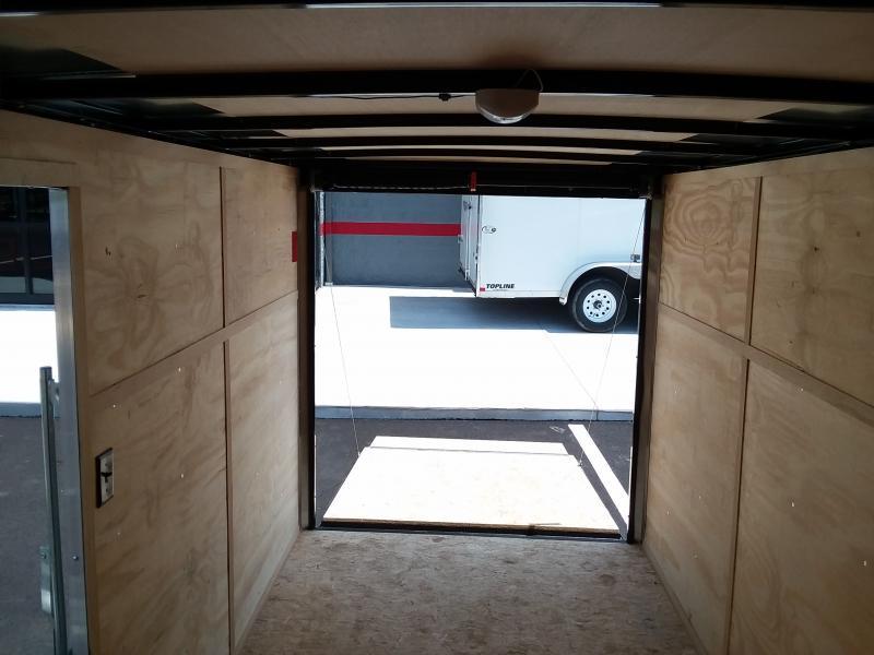 2018 Interstate 6' X 12' Enclosed Pewter