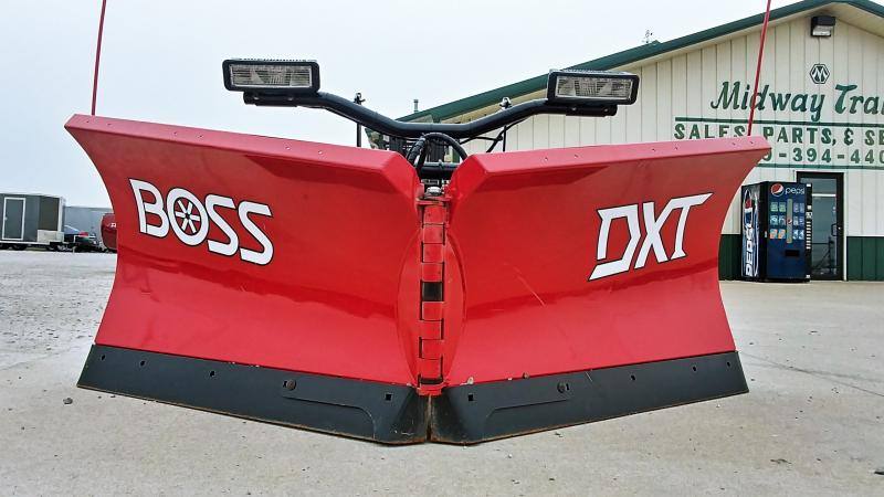 "2018 Boss 9'2"" Dxt V-plow Steel"