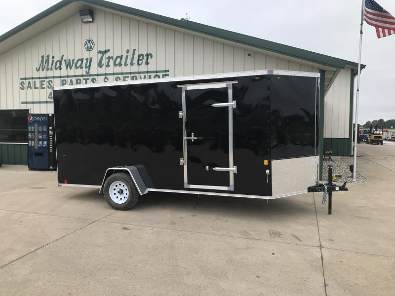2019 Interstate 6 X 14 Black Enclosed