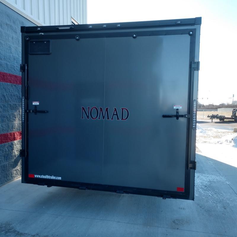 2019 Nomad 8.5'x24' Toy Hauler 12k - Platinum