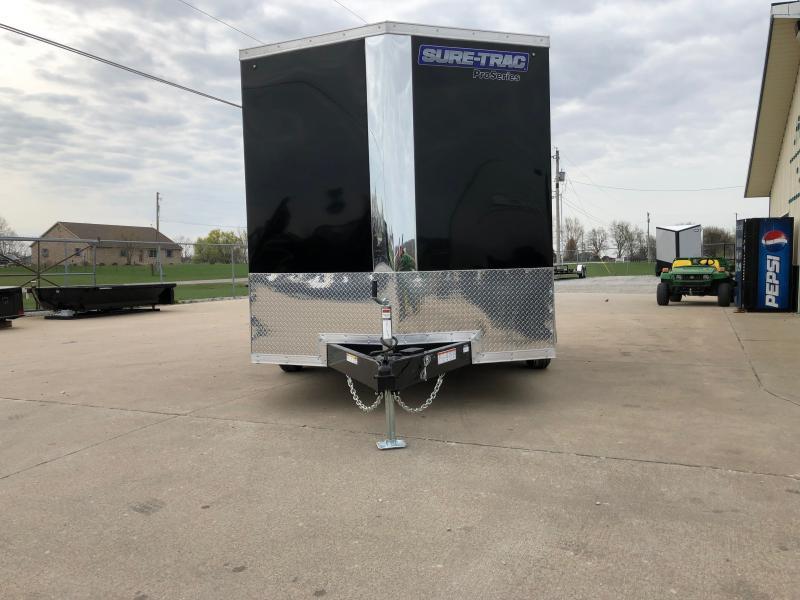 2019 Sure-trac 7x12 Psw 7k Black