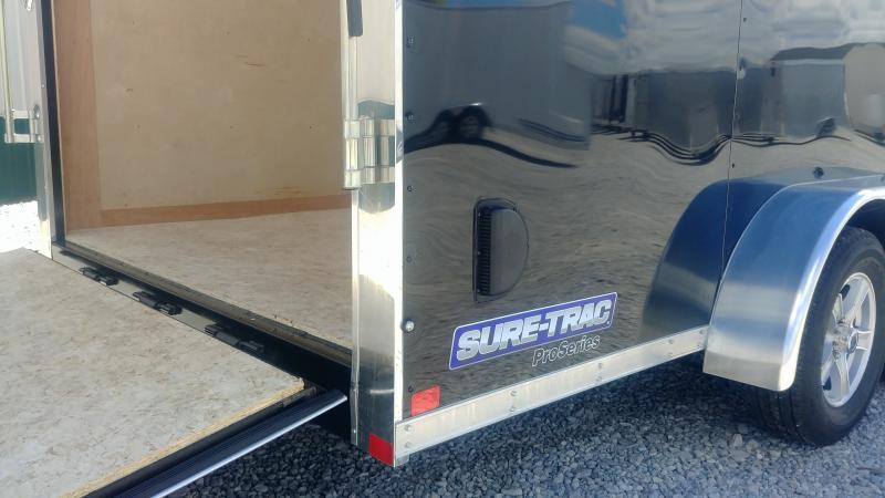 2018 Sure-trac 7x16 Enclosed Black