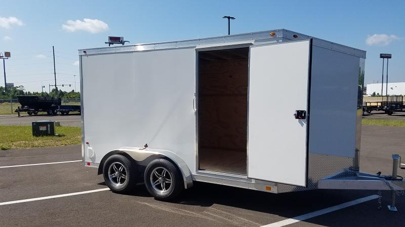 2019 One Trailers 7'x12' White 7k