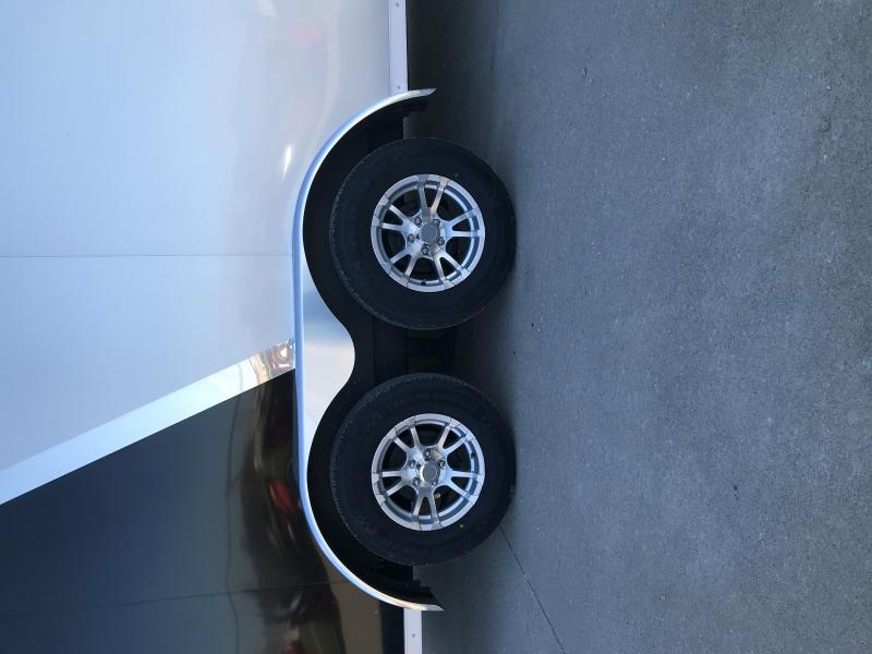 "2019 Sure-trac 7 X 16 Silver/black 6"" Extra Height Enclo"