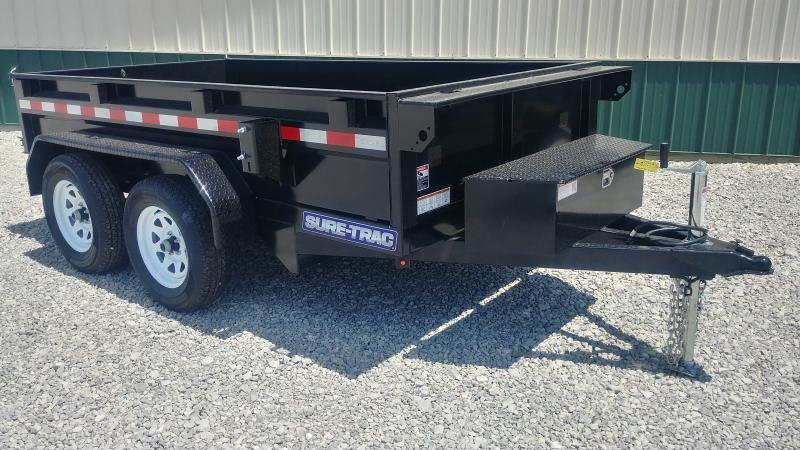 2018 Sure Trac 5x10 Dump 7k Single Ram