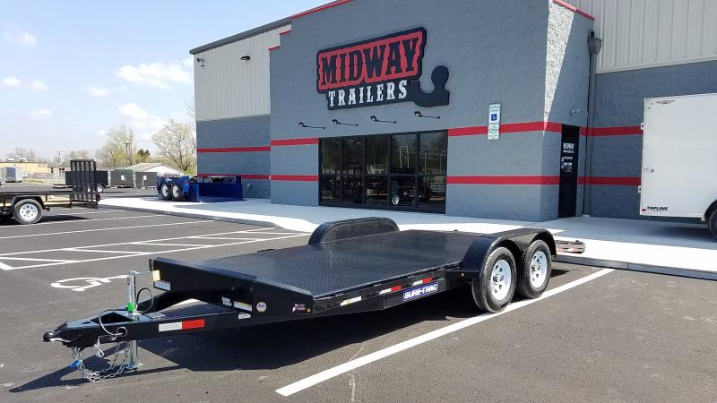 2019 Sure-trac 7' X 18' Steel Deck Ch 7k