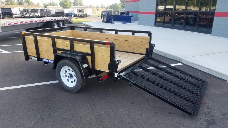 2018 Sure-trac 5'x8' 3 Board 3k