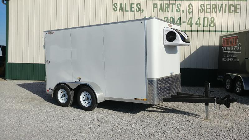 2018 H&h Trailers 6'x12' Refrigerated Enclosed