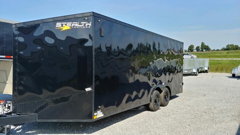 2020 Stealth 8.5x20 Titan 7k Black Bo