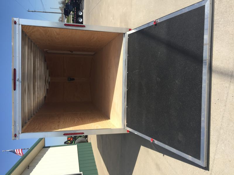 2019 One Trailers 7 X 16 White One Enclosed