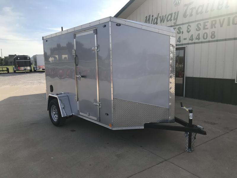 2019 Stealth 6 X 10 Titan Silver Enclosed 3k