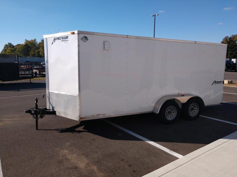2016 Homesteader 7'x16' Enclosed 7k
