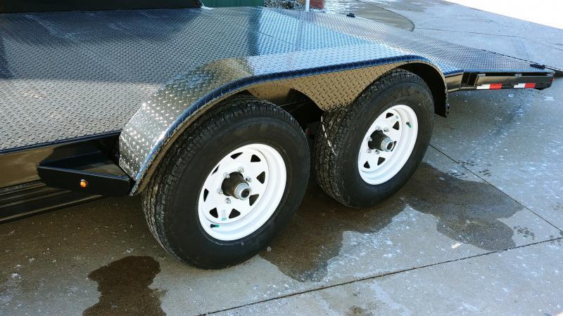 2019 Sure-trac 7x18 Steel Deck Ch 7k