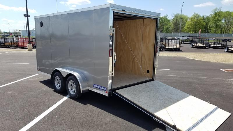 2018 Sure-trac 7' X 14' Enclosed 7k Pewter