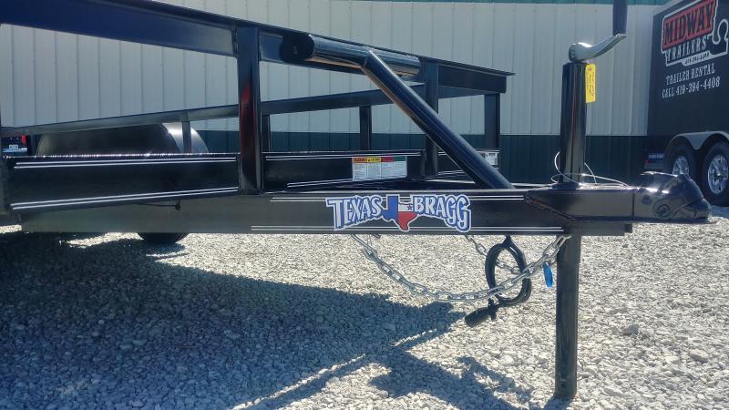 2017 Texas Bragg 7'x16' Angle Utility