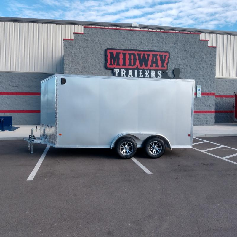 2019 Ez Hauler 7'x14' Alum Enclosed 7k