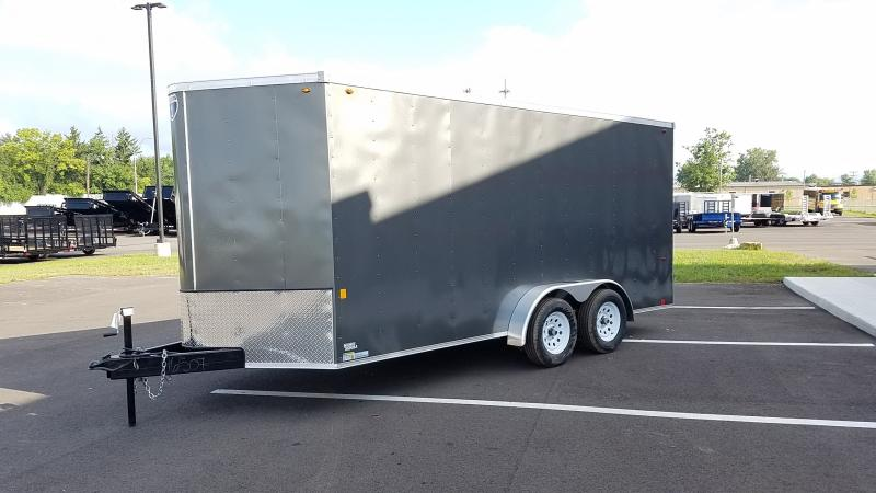 2019 Interstate 7 X 16 Charcoal Enclosed 7k