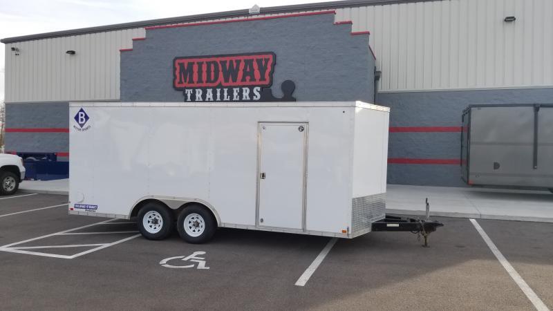 2016 Sure-trac 8.5'x18' Enclosed 10k