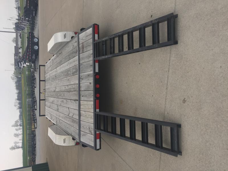 2019 Pj Trailers 7' X 18' Wood Deck 7k