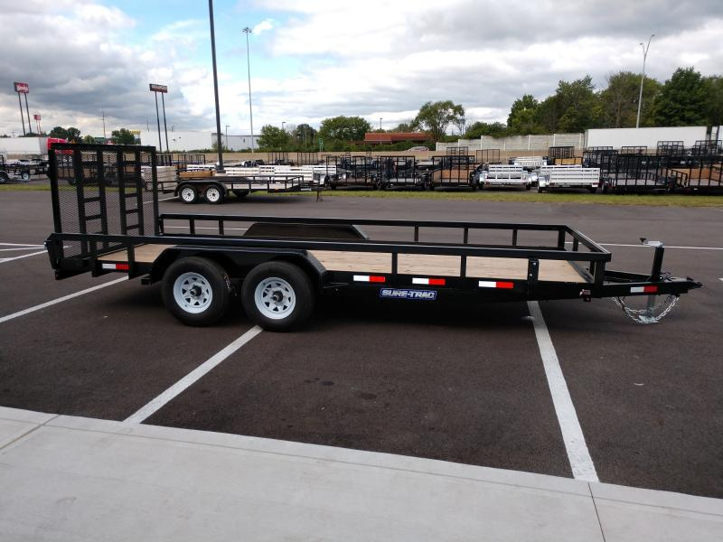 2019 Sure-trac 7'x18' Tube Top 10k Standard Gate
