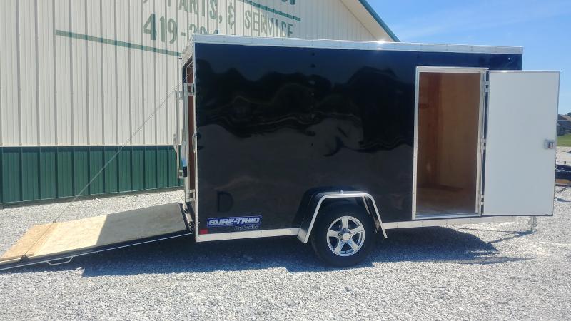 2019 Sure-trac 6 X 12 Enclosed Black 3k