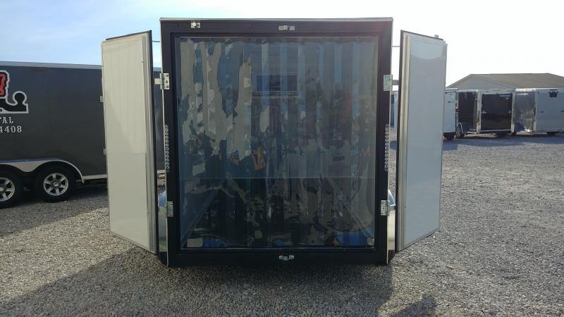 2018 H&h Trailers 6 X 12 Refrigerated Enclosed