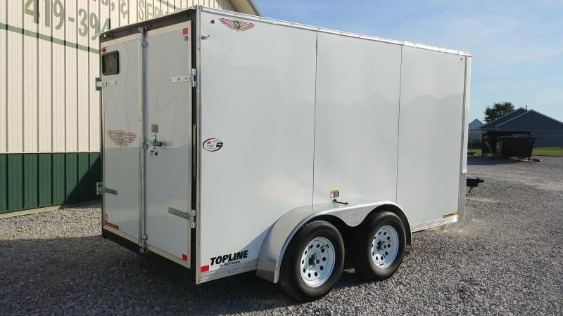 2018 H&h Trailers 6x12 Refrigerated 7k White