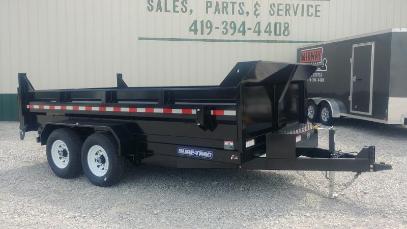2019 Sure-trac 7x14 Dump 14k Dual Ram