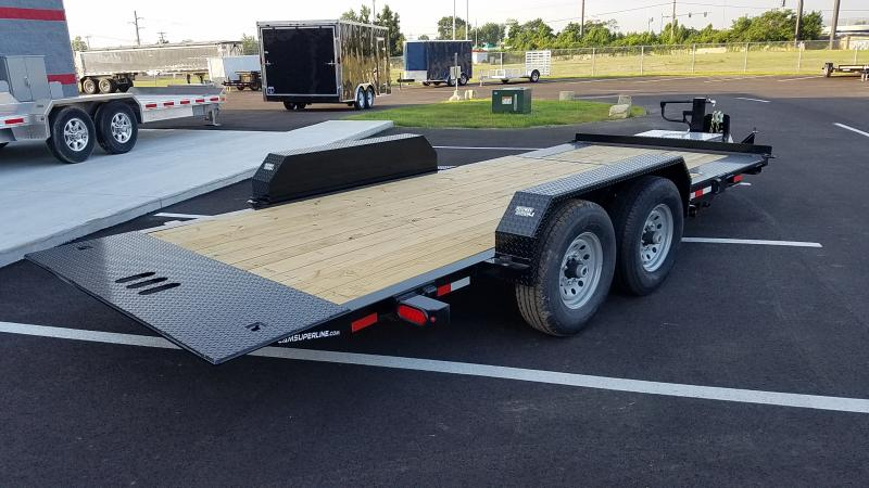 2019 Cam Superline 19' Tilt Trailer Split Deck