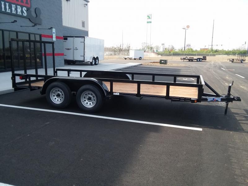 "2018 Texas Bragg 77"" X 16' Utility 7k"