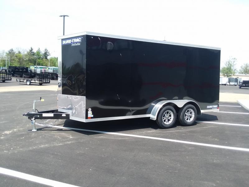 2018 Sure-trac 7'x16' Enclosed 7k