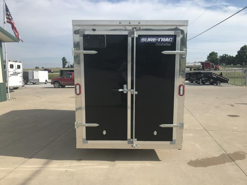 2020 Sure-trac 6'x10' Black 3k Barn Doors