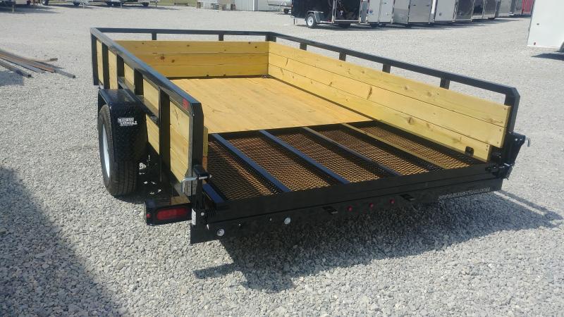 2018 Sure-trac 7x12 Tube Top Three Board High