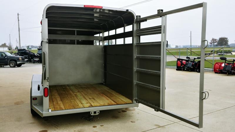 2019 Corn Pro 6x16 Livestock 7k Pewter
