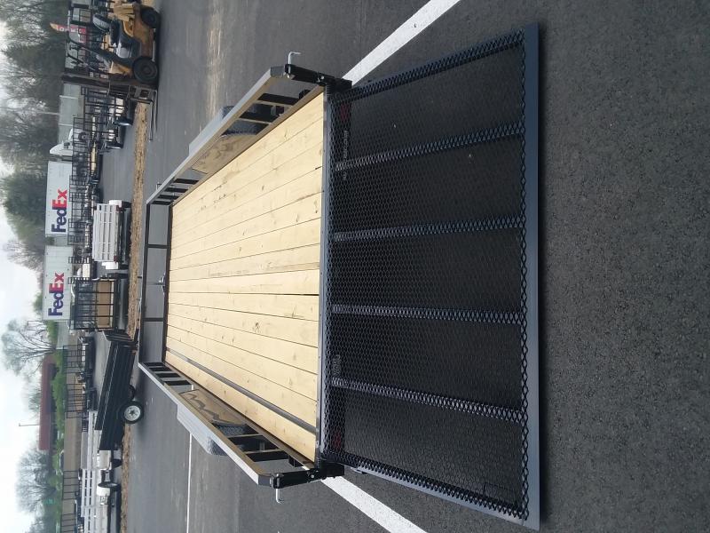 2018 Sure-trac 7' X 18' Tube Top Utility, 7k Tandem